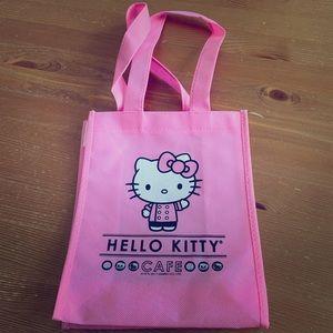 Hello Kitty Cafe Bag - Bright Pink, Reusable